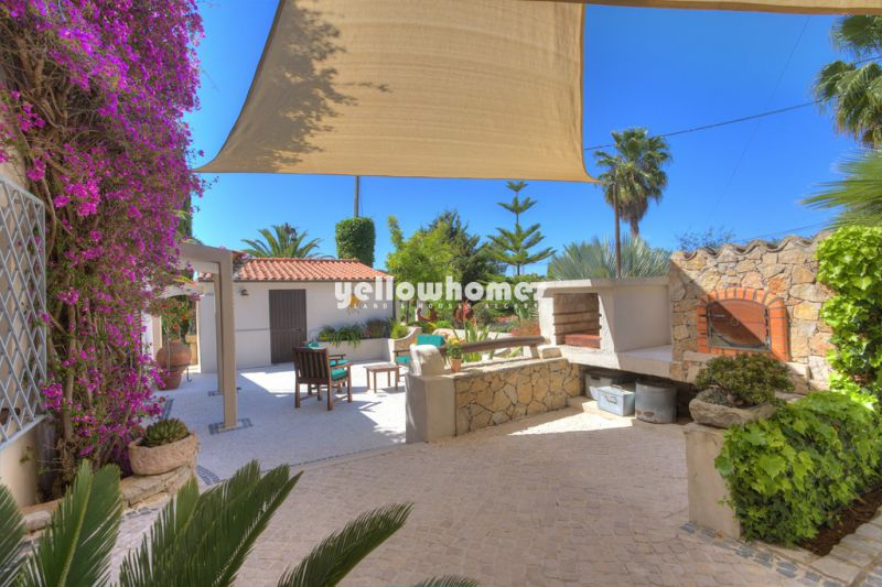 Magnificent 7 bed rustic villa in Loule on impeccably presented garden